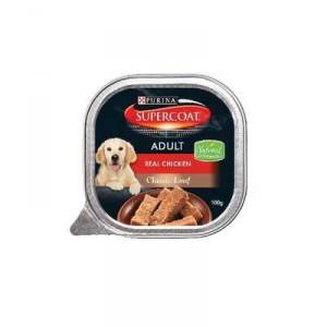 Supercoat Adult Dog Food Chicken Loaf