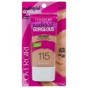 Covergirl Ready Set Gorgeous Foundation Buff Beige