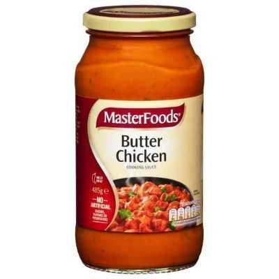 Masterfoods Simmer Sauce Butter Chicken