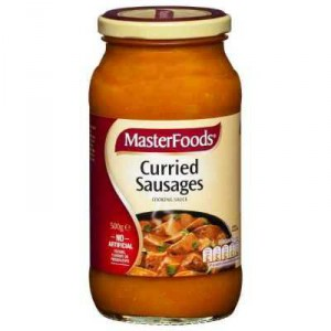 Masterfoods Simmer Sauce Curried Sausages