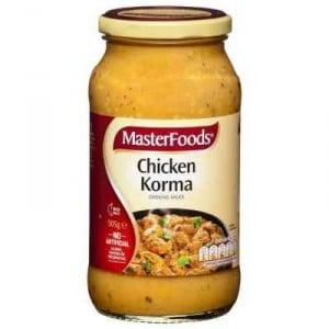 Masterfoods Simmer Sauce Chicken Korma