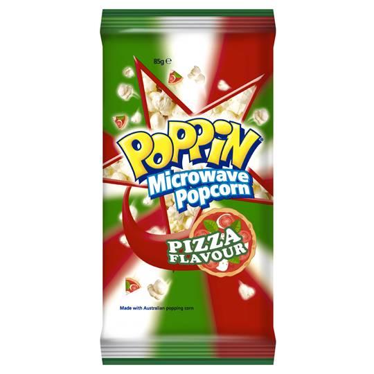 Poppin' Microwave Popcorn Pizza