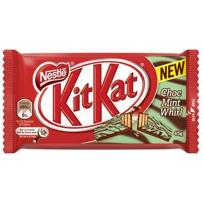 Nestle Kit Kat Choc Mint Whirl