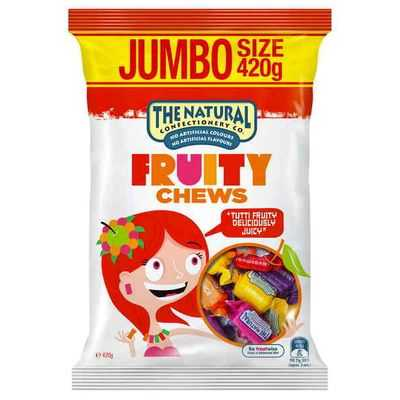 The Natural Confectionery Co Fruity Chews
