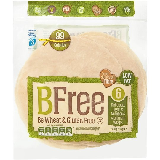 Bfree Wraps Multigrain