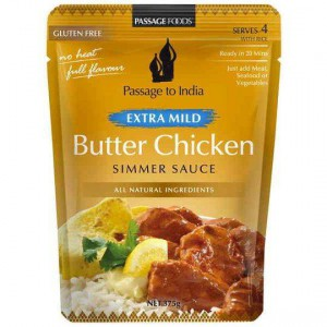 Passage To India Simmer Sauce Extra Mild Butter Chicken