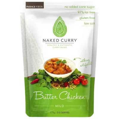Passage Foods Simmer Sauce Naked Curry Butter Chicken