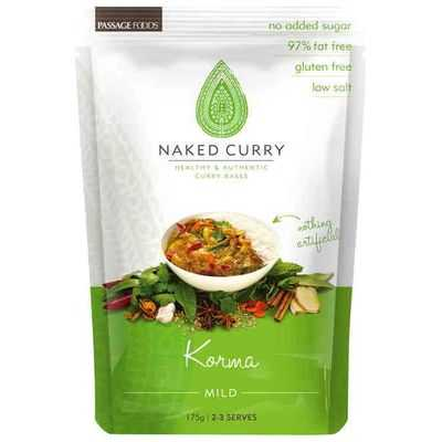 Passage Foods Simmer Sauce Naked Curries Korma