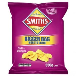 Smith's Share Pack Crinkle Cut Salt & Vinegar