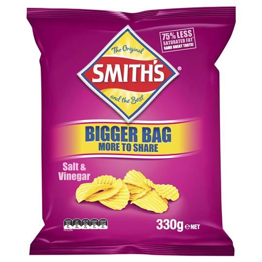Smith's Share Pack Crinkle Cut Salt & Vinegar