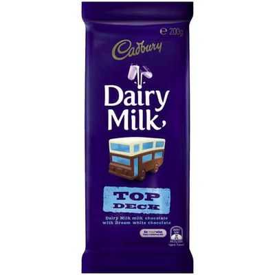 Cadbury Dairy Milk Chocolate Top Deck