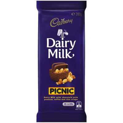 Cadbury Dairy Milk Chocolate Picnic