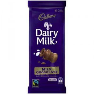 Cadbury Dairy Milk Chocolate Fair Trade
