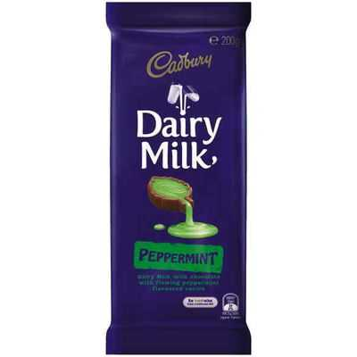 Cadbury Dairy Milk Chocolate Peppermint