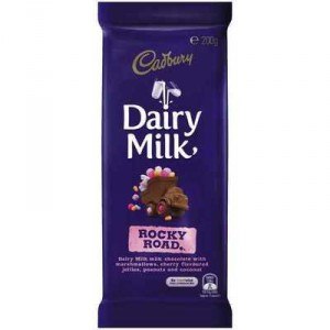 Cadbury Dairy Milk Chocolate Rocky Road