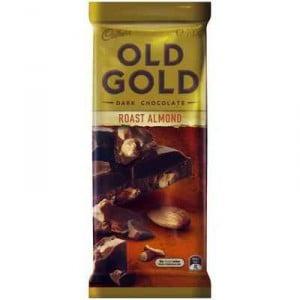 Cadbury Old Gold Dark Chocolate Roast Almond