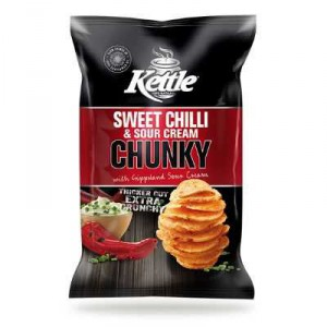 Kettle Share Pack Sweet Chilli & Sour Cream