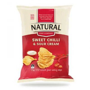 Natural Chip Co Share Bag Sweet Chilli & Sour Cream