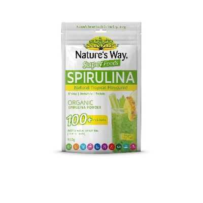 Nature's Way Super Spirulina Tropical Organic Powder