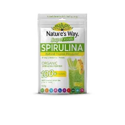 Nature's Way Super Spirulina Tropical Organic Powder
