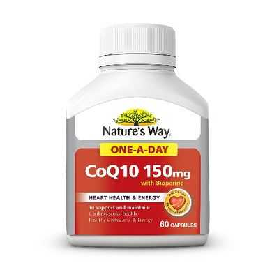 Nature's Way Coq10 150mg With Bioperine