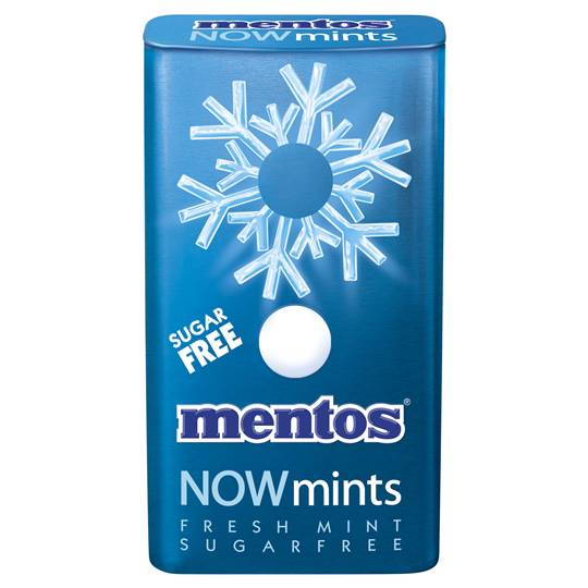 Mentos Now Mints Fresh Mint