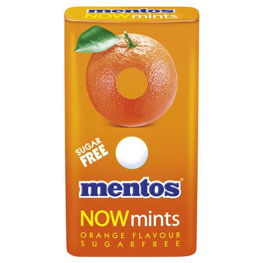 Mentos Now Mints Orange