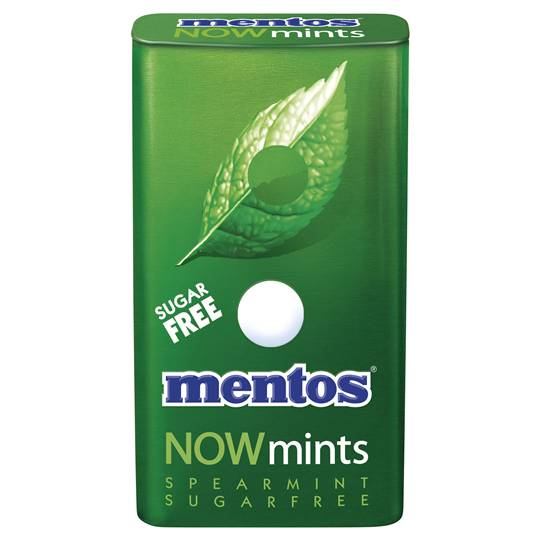 Mentos Now Mints Spearmint