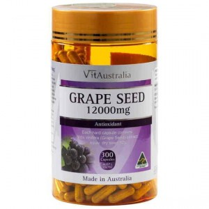 Vitaustralia Grape Seed 12000mg Capsules