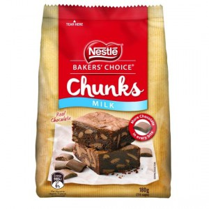 Nestle Baker's Choice Real Chocolate Chunks Milk