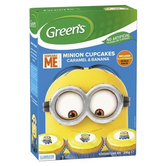 Greens Minions Cupcakes Mix