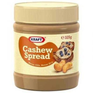 Kraft Smooth Cashew Spread