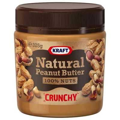 Kraft Natural Crunchy Peanut Butter