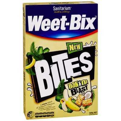 Sanitarium Weet-bix Bites Banana Blast