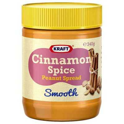 Kraft Cinnamon Spice Smooth Peanut Spread