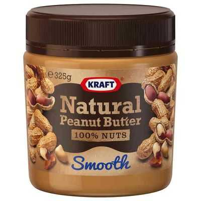Kraft Natural Smooth Peanut Butter