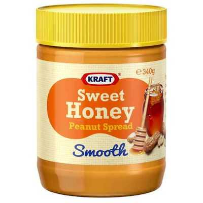 Kraft Sweet Honey Peanut Spread