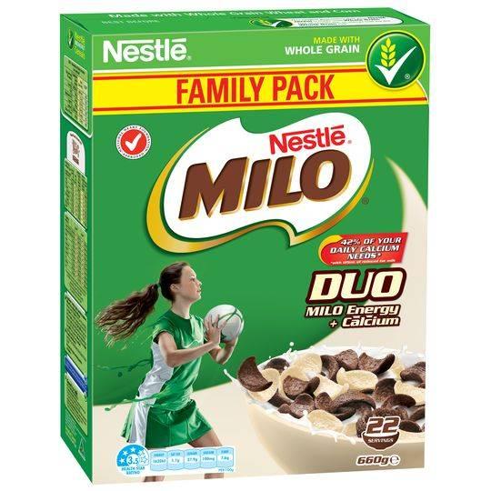 Nestle Milo Duo Cereal