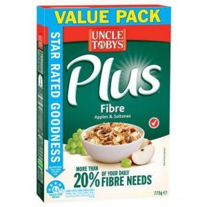 Uncle Tobys Plus Fibre