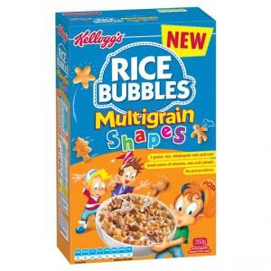 Kellogg's Rice Bubbles Multigrain Shapes