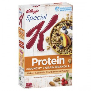Kellogg's Special K Almonds Cranberries & Pepita Whole Grain Clusters