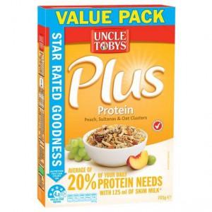 Uncle Tobys Plus Protein
