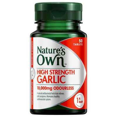 Nature's Own High Strngth Garlic 10000mg