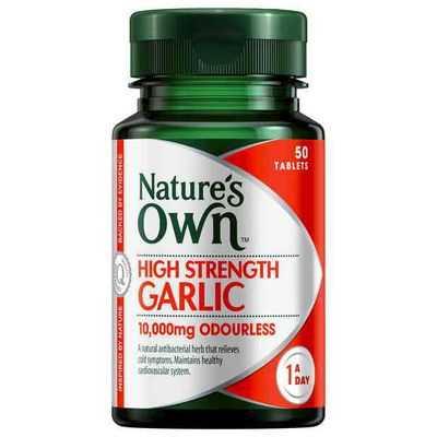 Nature's Own High Strngth Garlic 10000mg