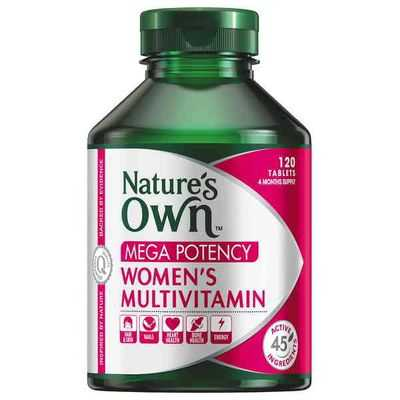 Natures Own Mega Potency Womens Multivit