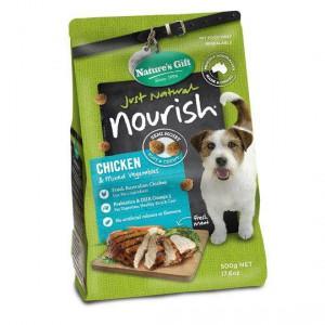 Natures Gift Nourish Chicken & Mixed Veg Adult Dog Food