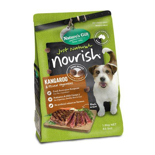 Natures Gift Nourish Kangaroo & Mixed Veg Adult Dog Food