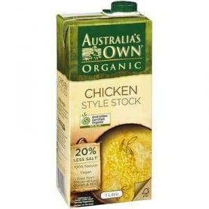 Australias Own Chicken Stock Organic