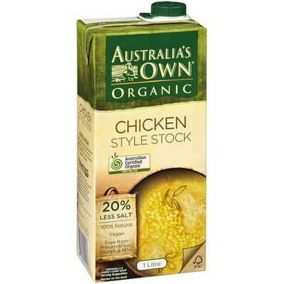 Australias Own Chicken Stock Organic