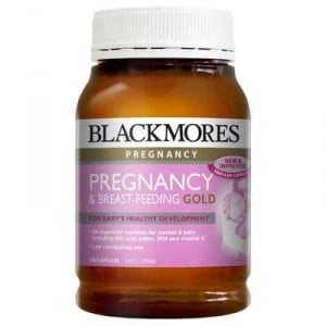 Blackmores Pregnancy & Breastfeeding Gold Vitamin Capsules